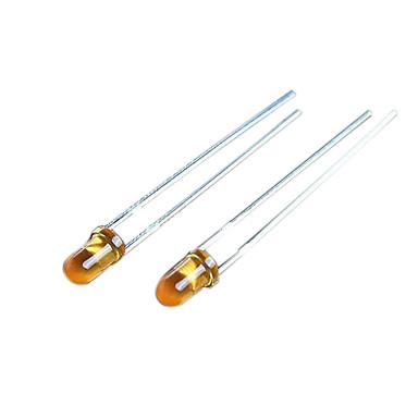 3mm LED Dioden - (rot + gelb + blau + weiß + grün + orange) (120 Stück)