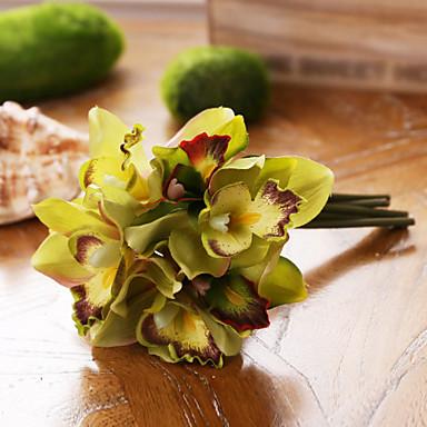 7 Ast Seide Magnolienbaum Tisch-Blumen Künstliche Blumen