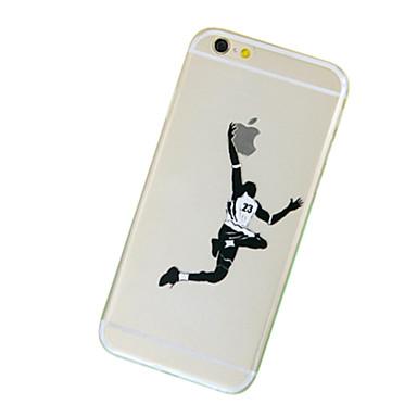 Pouzdro Uyumluluk iPhone 7 Plus iPhone 7 iPhone 5 Apple iPhone 8 iPhone 8 Plus iPhone 5 Kılıf Şeffaf Temalı Arka Kapak Oynanan Apple