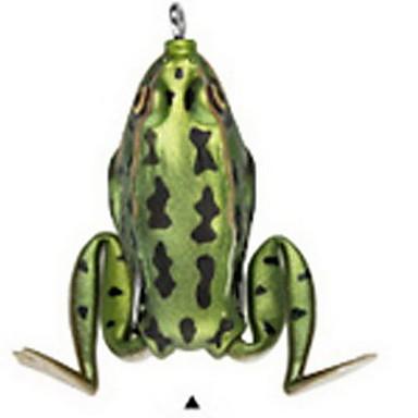 1 個 ハードベイト ルアー ハードベイト カエル ランダム色 グラム/オンス mm インチ,硬質プラスチック 海釣り 川釣り