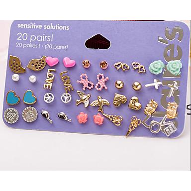 Schmuck 1  Verpackung Ohne Stein Normal Aleación 1 Set Damen Mehrfarbig Hochzeitsgeschenke