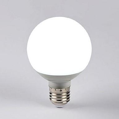 7 W 550-600 lm E26 / E27 Lâmpada Redonda LED G80 14 Contas LED LED de Alta Potência Decorativa Branco Quente 220-240 V / 1 pç