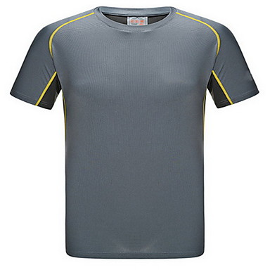 Damen Laufshirt Kurzarm Rasche Trocknung Atmungsaktiv Schweißableitend Sweatshirt Oberteile für Yoga Übung & Fitness Rennsport Laufen