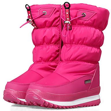子供用 女の子 男女兼用 男の子 冬用ブーツ スエード革 ナイロン スキー ダウンヒル アンチスリップ 防水 高さ増大 冬