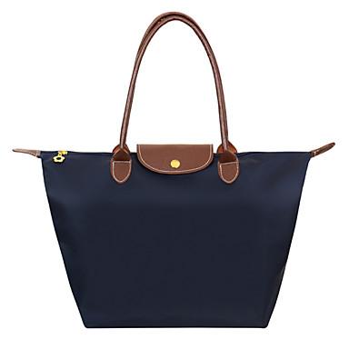 hesapli Çantalar-Kadın's Çantalar Naylon Omuz çantası için Resmi / Dış mekan / Ofis ve Kariyer İlkbahar yaz Fuşya / Kırmzı / Açık Mavi