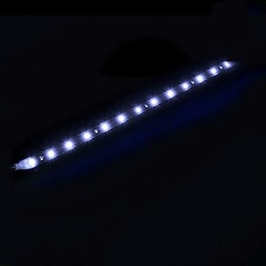 süper parlak gündüz ışık 12v 30cm su geçirmez ışık 15smd esnek evrensel araba styling araba şerit led ışık