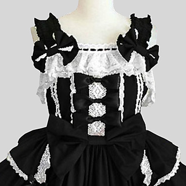 Gothic Lolita Prinsessa Punk Naisten jsk / Jumper Skirt Cosplay Hihaton