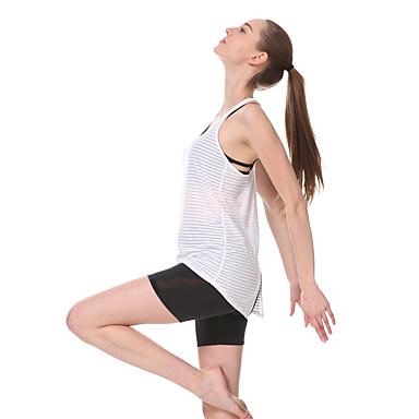 Yokaland Yoga Topper Fort Tørring Pustende Beskyttende Reduserer gnaging Svettereduserende Bekvem Stretch Drakter Yoga & Danse Sko