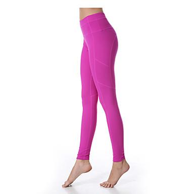 Yogabukser Tights Bunner Fort Tørring Pustende Komprimering Ultralett stoff Stretch Drakter Dame Yokaland Yoga & Danse Sko Pilates