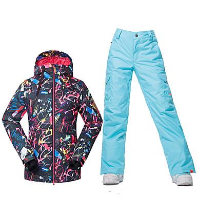 11bda72bb8505 Odzież narciarska Kurtki narciarskie/snowboardowe Damskie Odzież zimowa  Poliester Ubrania zimoweWodoodporny Keep Warm Wiatroodporna