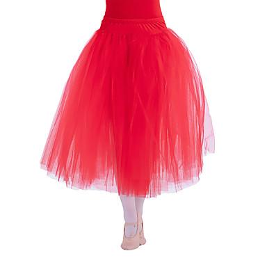 8d7167ea4c48 Balet tutu a sukně Dámské Dětské Výkon Bavlna Tyl Lycra Jeden díl Přírodní  Sukně