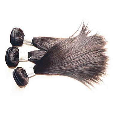 شعر مستعار طبيعي موجات الشعر الطبيعي مستقيم شعر برازيلي 1000 g أكثر من سنة واحدة