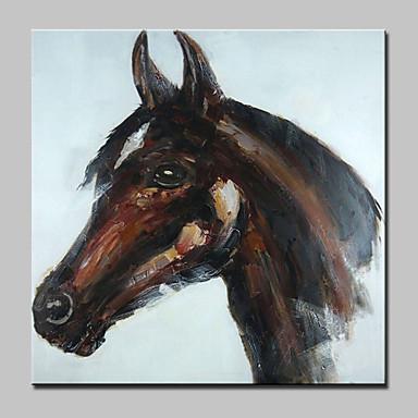 手描きの 動物 ポップアップ 油彩画,Modern 欧風 1枚 キャンバス ハング塗装油絵 For ホームデコレーション
