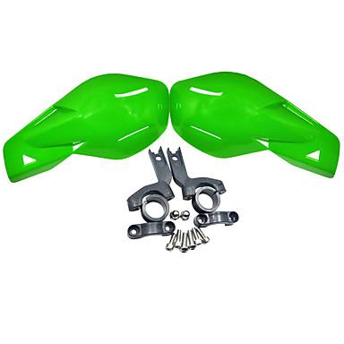 protector de plástico del protector del manillar de la motocicleta del atv de la bici del pit del dirtcross de la suciedad del alto rendimiento