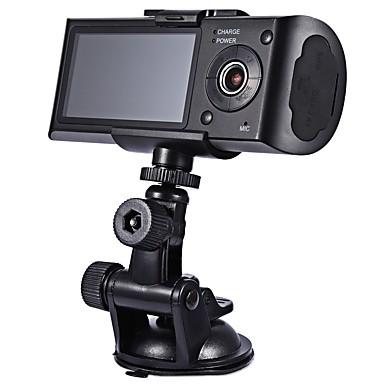 r300 720p / HD 1280 x 720 HD DVR del coche 140 Grados Gran angular 2.7 pulgada Dash Cam con GPS / Visión nocturna / G-Sensor Registrador