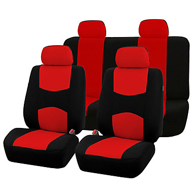 cheap Car Seat Covers-AUTOYOUTH Automobiles Seat Covers - Full Set Car Seat Covers Universal Fit Car Seat Protectors Auto Car Interior Accessories