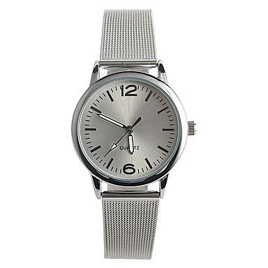 Mujer Reloj de Pulsera Gran venta / / Acero Inoxidable Banda Casual / Moda Plata / Un año / Tianqiu 377