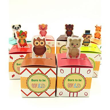 Cubi Carta Porta-bomboniera con A fantasia Bomboniere scatole - 50