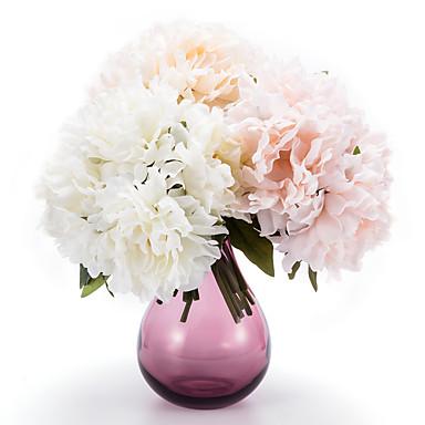 Seide Pfingstrosen künstliche Blumen Hochzeit Blumen Mehrfarbenwahlweise 1pc / set