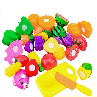Toy kjøkken sett Liksomspill Frukt Originale Plast Barne Leketøy Gave
