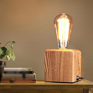 Bordlamper Øyenbeskyttelse Rustikk Tre/bambus