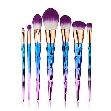 7pcs Makeup børster Profesjonell Syntetisk hår Bærbar / Økovennlig / Full Dekning Nylon
