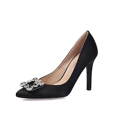 fermé Paillette Mariage Soie Brillante pour 05514130 Eté Chaussures Strass Femme Talon Talons Aiguille pointu Printemps Bout Bout à Chaussures 6wTfSq7