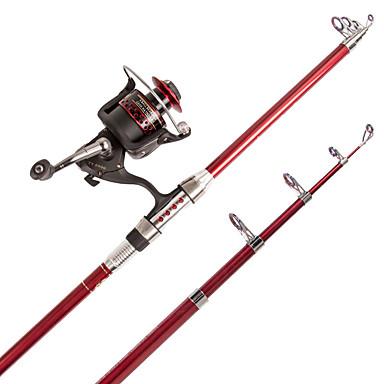 cheap Fishing Rods-Spinning Rod Telespin Rod Iso Rod Spinning Rod 210 cm Multifunction Telescopic Heavy (H) Extra Heavy (XH) Sea Fishing Freshwater Fishing General Fishing