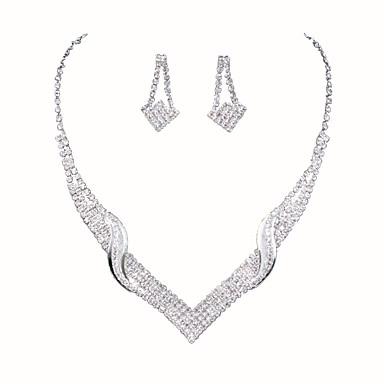 Mulheres Conjunto de jóias - Estiloso Incluir Prata Para Casamento / Festa / Ocasião Especial