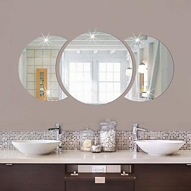 أشكال ملصقات الحائط ملصقات الحائط على المرآة لواصق حائط مزخرفة, الفينيل تصميم ديكور المنزل جدار مائي جدار