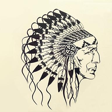 1pcs não tóxica / Estampado Tatuagens Adesivas Clássico Diário