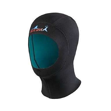Bluedive Capuchas de Buceo Grueso / 1mm Nailon / Neopreno para Adultos - Mantiene abrigado, Secado rápido, Sin costura Natación / Buceo /