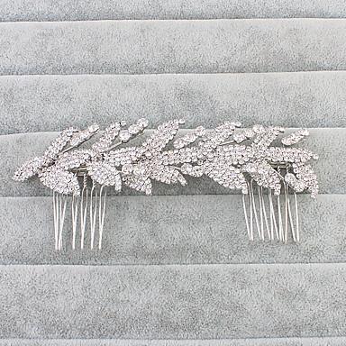 حجر الراين فرش تمشيط للشعر 1 زفاف / مناسبة خاصة خوذة