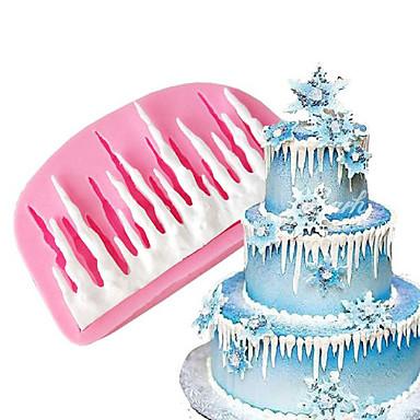 Herramientas para hornear Silicona Ecológica / Antiadherente / Vacaciones Pastel / Chocolate / para el caramelo Molde para hornear 1pc