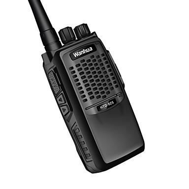 wanhua 825 Rádio de Comunicação Portátil / Analógico Aviso De Bateria Fraca / Função de Poupança de Energia > 10 km > 10 km 6 W Walkie Talkie Dois canais de rádio