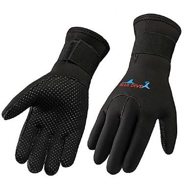 Bluedive Vinterhansker / Aktivitets- og Sportshansker / Dykking Hansker neopren / Nylon Full Finger Hold Varm, Slitasje-sikker,