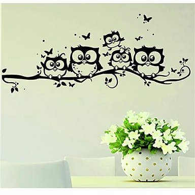 Animales Pegatinas de pared Calcomanías de Aviones para Pared Calcomanías Decorativas de Pared, Vinilo Decoración hogareña Vinilos