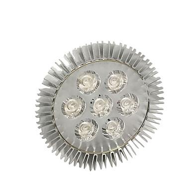 540-740lm E27 Voksende lyspære 7 LED perler Høyeffekts-LED Blå Rød 85-265V