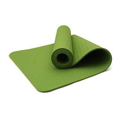Yogamatte Lugtfri, Økovennlig TPE Til Lilla, Akvamarin, Frukt Grønn