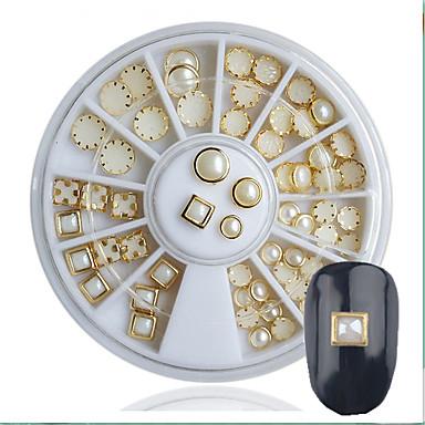 1 Pcs Strass Gioielli Per Unghie Con Perline Per Unghia Della Mano Manicure Manicure Pedicure Classico #05559210