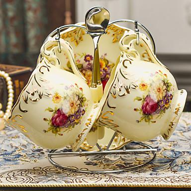Glass Nyhet Drikkeredskaper Tekopper Glass Vannflasker Kaffekrus Te & Varm Drikke Dekorasjon kjæreste gave 1 Kaffe Te Vand Juice