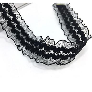Gargantillas - Tela de Encaje Diseño Único, Tatuaje, Básico Negro Gargantillas Joyas Para Boda, Fiesta, Ocasión especial