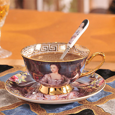 セラミック ティーカップ ウォーターボトル マグカップ お茶&飲み物 携帯用 カップ、グラス 1