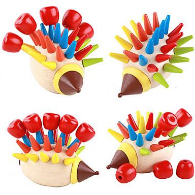 voordelige Rekenspeelgoed-Montessori lesmateriaal / Bouwblokken / Educatief speelgoed Noviteit / Onderwijs Hout Jongens / Meisjes Geschenk