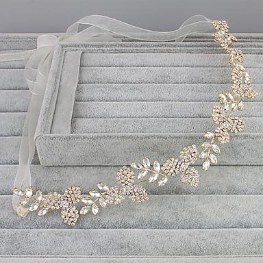 Strass Headbands com 1 Casamento / Ocasião Especial / Casual Capacete