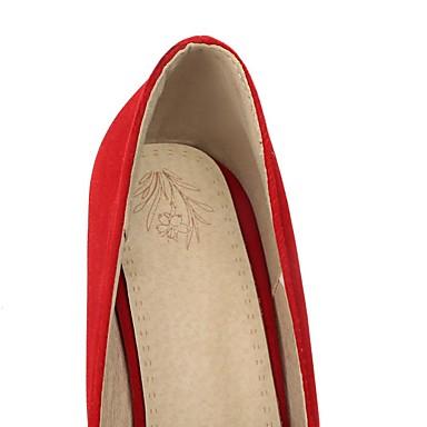 Mariage Bureau Chaussures Bout Laine pour rond synthétique 05548255 Eté Printemps Femme à Marche Bottier Chaussures Talon Automne Confort Talons naORHxTwxd