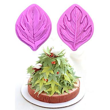Herramientas para hornear Goma de Silicona Ecológica Pastel / Galleta / Chocolate Molde para hornear 1pc