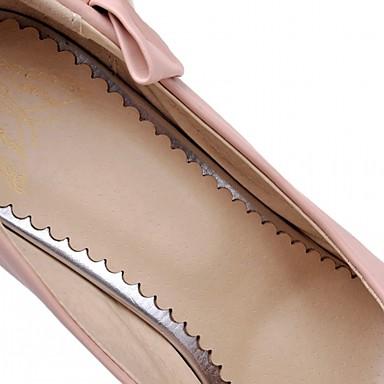 Eté Nouveauté Synthétique rond Aiguille Femme Talons Chaussures Confort Chaussures à Noeud Polyuréthane 05563853 Talon Printemps Marche Bout xIcfYq