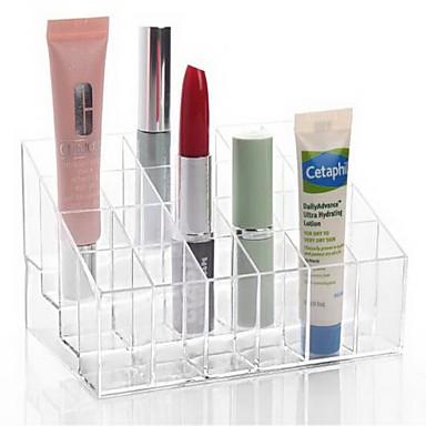 Sminkeredskap Kosmetikk- oppbevaring Sminke Akryl Klassisk Daglig Hverdagssminke kosmetisk Pleieutstyr