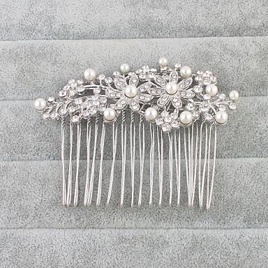 Cristal Pentes de cabelo com 1 Casamento / Ocasião Especial Capacete